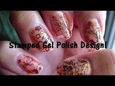 Stamped Gel Polish Design!