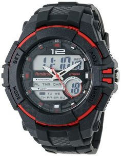 Men's Wrist Watches - Armitron Sport Mens 204942RED Sport Watch * Continue to the product at the image link.