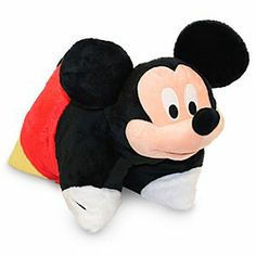 Disney Mickey Mouse Plush Pillow | Disney StoreMickey Mouse Plush Pillow - Sleep like a superstar on our soft and huggable plush Mickey Mouse pillow! Drift off to animated dreams, night or nap, on a furry reversible pillow that poses as a stuffed animal by day when you secure his belly strap! - HE WOULD SO LOVE THIS TO LAY ON HIS MICKEY MOUSE PLAY RUG