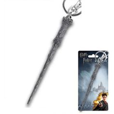 Harry Potter Pewter Key Ring: Harry's Wand