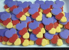 More Hearts - Decorated Sugar Cookies by I Am The Cookie Lady