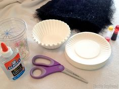 Supplies for making coffee filter poppies {Reality Daydream}
