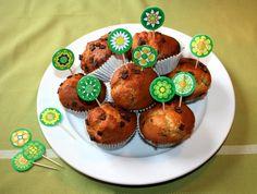 """12 Sticks """"Blumen"""" AprilWiese    Zum dekorieren vom Geburtstagskuchen, Muffins, Cupcakes, Fingerfood, Kuchen, Torte etc.    Die Sticks sind beidsei..."""