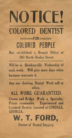 Cordele, GA is right down the street from me. JIM CROW LIVES IN COBB COUNTY GEORGIA