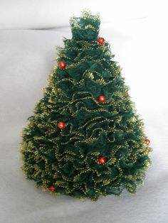 Free Crochet Xmas Tree Patterns | Miss Julia's Vintage Knit & Crochet Patterns