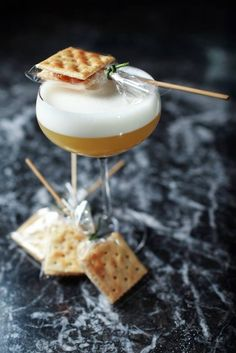 Top 10 curious cocktail garnishes. Humm...