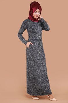 Beli Bağcıklı Cepli Elbise Laci Ürün kodu: BH2209 --> 79.90 TL