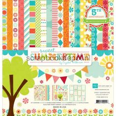 Echo Park Sweet Summertime - Collection Kit 12x12inch