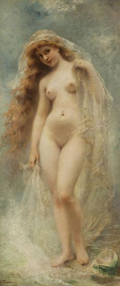 Konstantin Makovsky (1839-1915) - Birth of Venus
