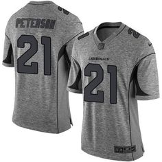 Nike Cardinals Larry Fitzgerald Gray Men s Stitched NFL Limited Gridiron  Gray Jersey 1cc86531a