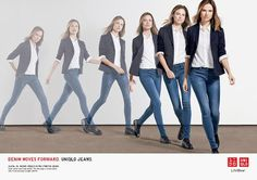 The Essentialist - Fashion Advertising Updated Daily: Uniqlo Denim ...