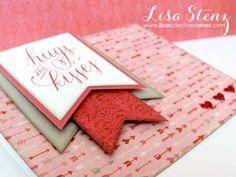 Lisa's Creative Corner: Hugs & Kisses Valentine Card