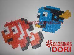 Figuras Hama Beads Nemo & Dori - 2,50€ Haz tu pedido en golosinas_dori@hotmail.com