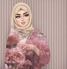 Pin by rovana ah on art in 2019 hijab drawing, anime art girl, art sketches. Best Friend Drawings, Girly Drawings, Sarra Art, Mode Turban, Hijab Drawing, Girly M, Islamic Cartoon, Anime Muslim, Hijab Cartoon