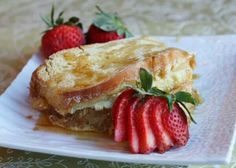 Creme brulle French toast