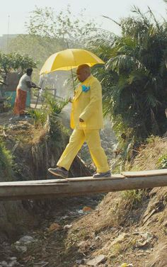 Meet The Stylish Sapeurs, The Congolese Stars Of Guinness's New Ad And Doc