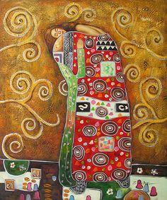 The Hug - Gustav Klimt