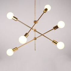 Nordic Simple Pendant Light Electrolplating Golden Pendant Light Living Room Study Light - Pendant Lighting - Ideas of Pendant Lighting Gold Ceiling Light, Ceiling Light Design, Ceiling Lights, Ceiling Fans, Living Room Designs, Living Room Decor, Dining Room, Led Trafo, Mobile Chandelier