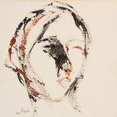 Untitled 53, 2014, Acrylic on canvas, 30x30 cm