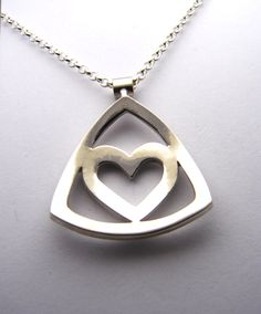 Sterling Silver, Soft Heart