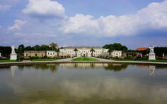 https://flic.kr/p/pC8635 | Hannover Germany | Hannover architecture, Herrenhausen palace, the reconstructed palace viewed from the famous Formal Baroque garden. Lower Saxony Germany. Taken on a Sony A6000