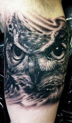 Realism Animal Tattoo by Hexa Salmela - http://worldtattoosgallery.com/realism-animal-tattoo-by-hexa-salmela/