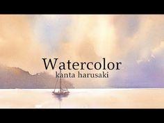 春崎幹太 水彩画 初級編 kanta harusaki Watercolor - YouTube