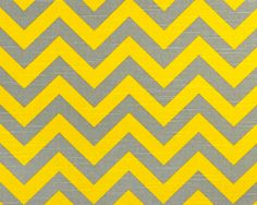 I'm making a bold move -- ash gray and corn yellow zigzag paired with charcoal and white zippy pattern!