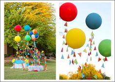 Balloon Theme Kids Party - Babybites.co.nz