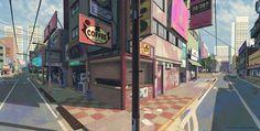 The Art of Vasili Zorin. Concept Artist for Sunset Overdrive Sunset Overdrive, Environment Concept, Environment Design, Art Et Illustration, Illustrations, Fantasy Angel, Couples Anime, Landscape Arquitecture, Bg Design