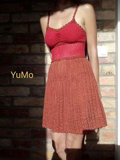 YuMo Crochet Color Dress. Cotton .Платье крючком цветное. Хлопок. Кр. №2. Your Photos, Two Piece Skirt Set, Selfie, Skirts, Dresses, Fashion, Moda, Vestidos, Fashion Styles