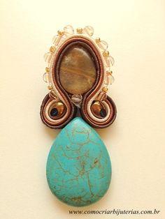 Soutache earrings DIY!!!
