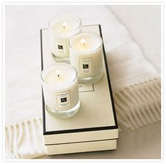 Jo Malone Travel Candles (Lime Basil & Mandarin is our favorite!)  ITKE