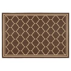 Check out this item at One Kings Lane! Sherman Outdoor Rug, Chocolate