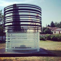 Black Hole. Now at Fondazione Cuoa - Altavilla Vicentina. #glass #vetro #fuorisalone