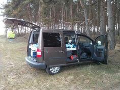Selbstbau Bett für VW Caddy | verdult.de