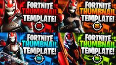 Youtube Thumbnail Template, Fortnite Thumbnail, Thumbnail Design, Youtube Design, Edit Text, File Size, Text You, Game Character, Photoshop