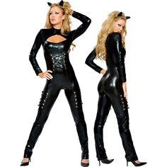 Batman and Cat Woman - Halloween costume