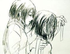 Attack On Titan Ships, Attack On Titan Anime, Eren And Mikasa, Armin, Hataraku Maou Sama, Satsuriku No Tenshi, Eremika, D Gray Man, Durarara