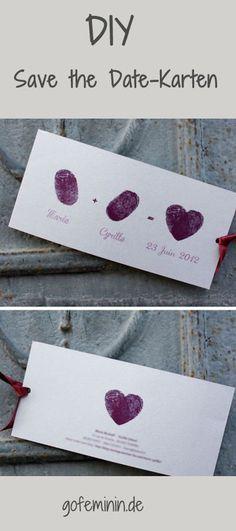 zusagen erwünscht: 10 kreative ideen für tolle save the date, Einladungen