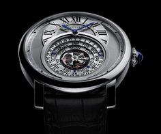 Pre #SIHH 2014 #Cartier Rotonde AstroCalendar