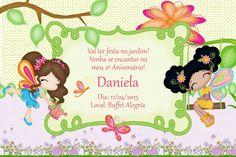Convite digital personalizado Jardim Encantado 006