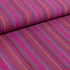 Flanell Pink Lila gestreift 100 % Baumwolle Patchwork Kleiderstoffe Stoffe