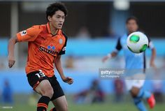 Toshiyuki Takagi of Shimizu S-Pulse in action during the J.League match between Jubilo Iwata and Shimizu S-Pulse at Yamaha Stadium on October 27, 2013 in Iwata, Shizuoka, Japan.