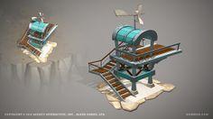 Legends of Atlantis Exodus - ingame 3D models by Ogami 3D, via Behance
