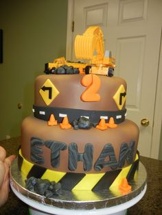 Construction Cake for dads retirement