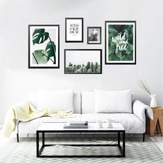 Easy Home Decor, Gallery Wall Bedroom, Living Room Decor, Girls Room Decor, Wall Art Living Room, Picture Wall Living Room, Minimalist Bedroom Decor, Apartment Living Room, Living Room Designs