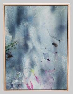 Ice Dye Artwork #4 | Lumiere Art + Co.