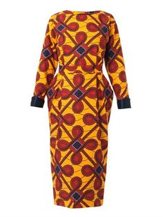 Designer Clothes, Shoes & Bags for Women African Dresses For Women, African Print Dresses, African Attire, African Women, African Prints, African Fabric, African Inspired Fashion, African Print Fashion, Africa Fashion