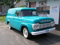 1959 Panel by 1957 58 59 60 Ford F-100 F 100 Pickup Trucks, via Flickr